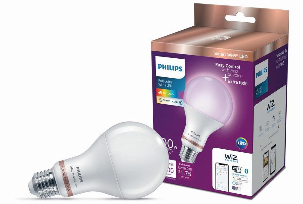 Philips WiZ review smart color LED lightbulb